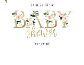#3 dla Create a baby shower event invite for facebook przez Shivam0801