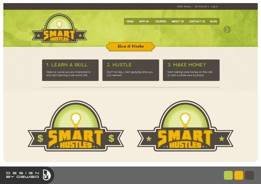 Inscrição nº                                         25                                      do Concurso para                                         Logo Design for SmartHustles.com