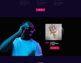 #39 para Build a home page design for a musician de kadir01