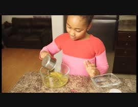 #3 para Video Editing --------- youtube video -----------  Children baking a cake 4K de chriswalley07
