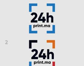 #1447 para Logo design for www.24hprint.ma de Th3m4n