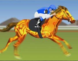 #43 para Create 15 second animation of running horse using provided graphic elements. de nubelo_N6IErUBM