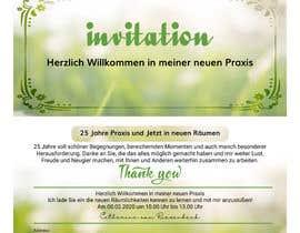 #6 für Design of an invitation von hebbasalman90