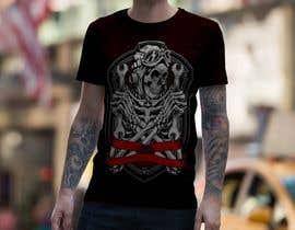 #40 para Design T.shirt for zombie character de shihabchowdhury0