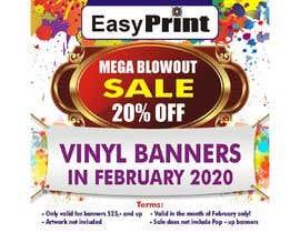 #3 para Mega Blowout Sale Sign - Vinyl Banners de dattkalpesh