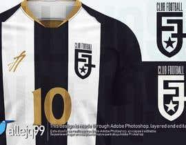 #78 para simple logo - black and white - soccer club de allejq99