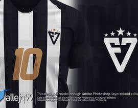 #116 para simple logo - black and white - soccer club de allejq99