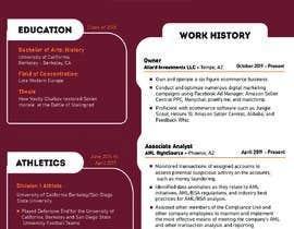 #34 para Design me a resume de shiblee10