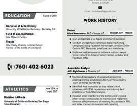 #31 para Design me a resume de shiblee10