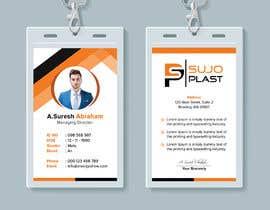 #96 untuk Design an minimalistic ID Card oleh iqbalsujan500