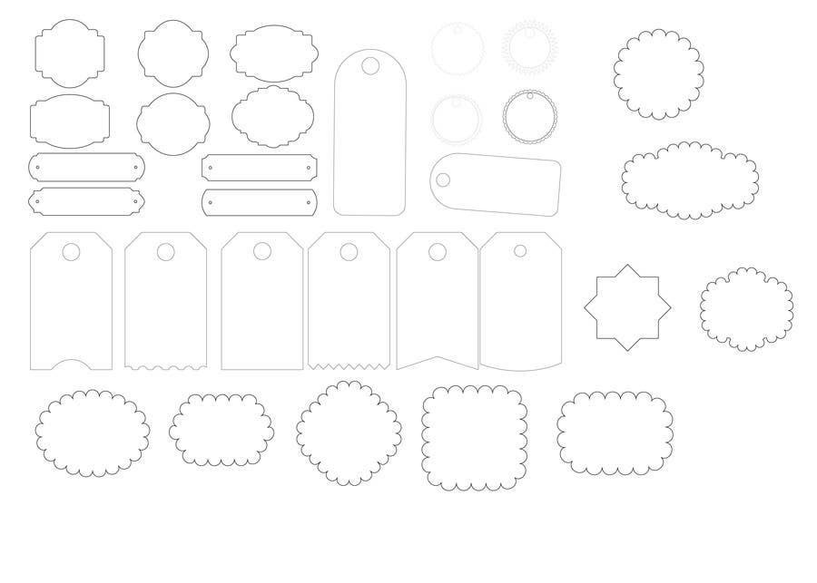 Basic Symmetrical Shape Outlines