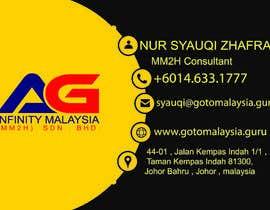 #3 untuk Design Name Card oleh mahimmusaddik121