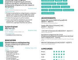 #1 untuk rebuild and design CV oleh abirrajdut