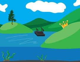 #71 para Background for mystical lake serpent de Skituljko1