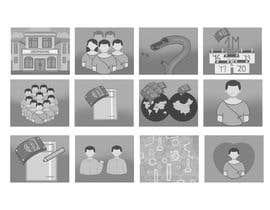 Antonija93 tarafından Creative Explainer Concept Illustrations (12 images) için no 36