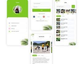 #44 para Clickable Mock-up / Prototype for App (Android / iPhone) with Design Principles / Corporate Identity por uiuxdesignerrr