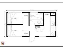 #12 for Design for a tiny mobile home af walliscurribarri
