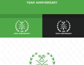#113 for 125 Anniverary logo design for golf club by alauddinh957