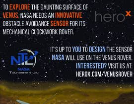 #134 for Create a handout to promote a NASA Tournament Lab Venus rover design challenge by jjkwon