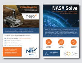 #126 for Create a handout to promote a NASA Tournament Lab Venus rover design challenge by Enroot