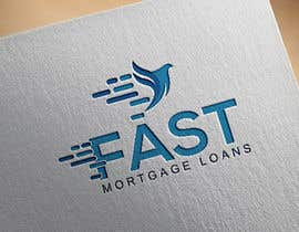 """#24 for A logo designed for """"Fast Mortgage Loans"""" by mozibulhoque666"""