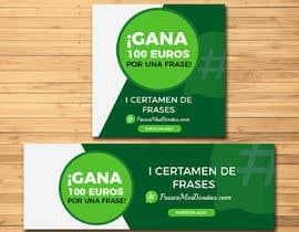 """#11 para Banner publicitario para certamen de frases """"FrasesMasBonitas.com"""" por jeevann007"""