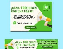 """#13 para Banner publicitario para certamen de frases """"FrasesMasBonitas.com"""" por dzaag"""