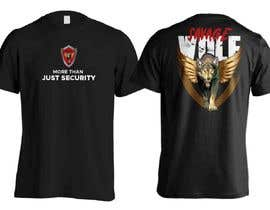 #13 para Design Security Sign and cool T-shirt de Moutaqii