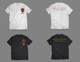 #9 para Design Security Sign and cool T-shirt de mudasarhussain97