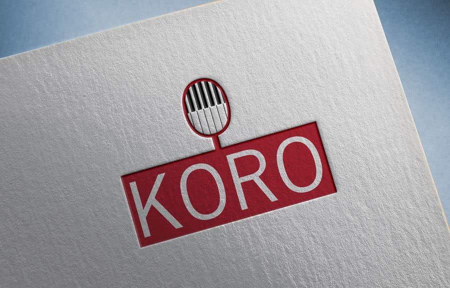 Participación en el concurso Nro.                                        64                                      para                                         Logo for an 8 member choir named KORO
