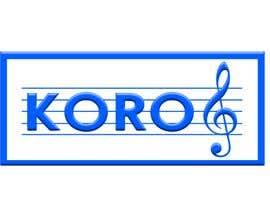 #59 para Logo for an 8 member choir named KORO de hazemyaseen23