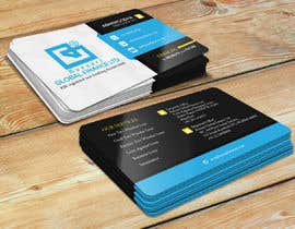 #128 for Redesign of Business Card - Finance Company by DhanvirArt