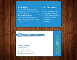 #166 cho Redesign of Business Card - Finance Company bởi CreativeShovro