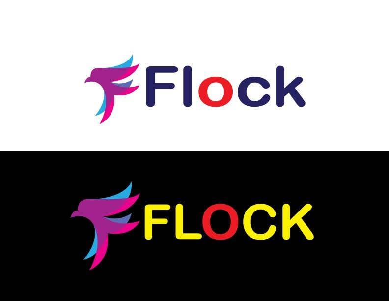 """Конкурсная заявка №                                        265                                      для                                         Logo for a travel app """"Flock"""""""