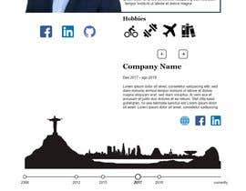 #35 for Build me the design of my personal 'Single Page Resume' website. by achovic