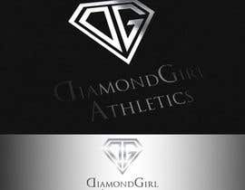 #38 para Logo Design for Diamond Girl Athletics por HammyHS
