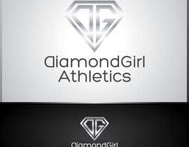 #40 para Logo Design for Diamond Girl Athletics por HammyHS