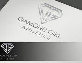 #52 cho Logo Design for Diamond Girl Athletics bởi HammyHS