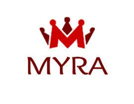#21 para Logo Design for Myra por kainatali