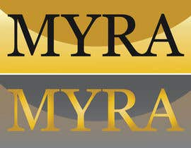 #15 para Logo Design for Myra por Aleshander