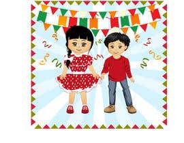 Nro 72 kilpailuun Mexican Fiesta Cartoon Illustration Vector käyttäjältä pgaak2