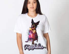 aditodev7 tarafından To create an image / design for a T-shirt based on a real dog picture. için no 53
