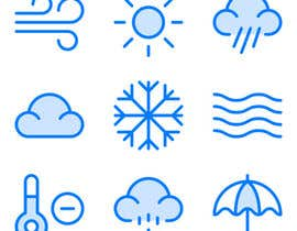 #28 pentru Multiple Winners: Redesign a bunch of icons de către thbadhan143