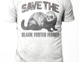#30 для Graphic Design for Endangered Species - Black Footed Ferret от sajeebhasan166