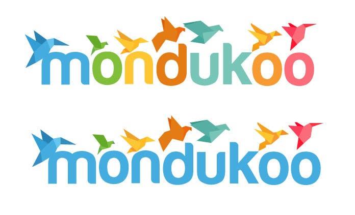 Inscrição nº 9 do Concurso para mondukoo, create a logotype for my personnal website and an icon