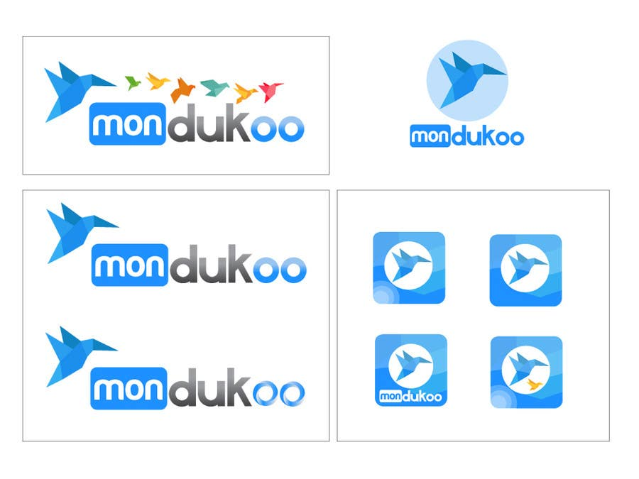 Bài tham dự cuộc thi #                                        14                                      cho                                         mondukoo, create a logotype for my personnal website and an icon