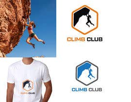 #181 for Logo design for a climbing club by raselcolors