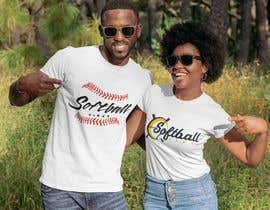 #29 для Baseball/Softball Vibes T-shirt Design от utsabarua
