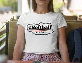 #37 для Baseball/Softball Vibes T-shirt Design от voltes098