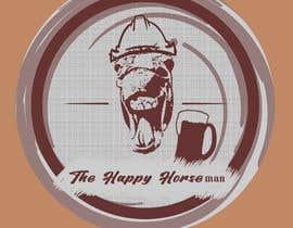 Nro 24 kilpailuun logo for The Happy Horseman käyttäjältä danciuand